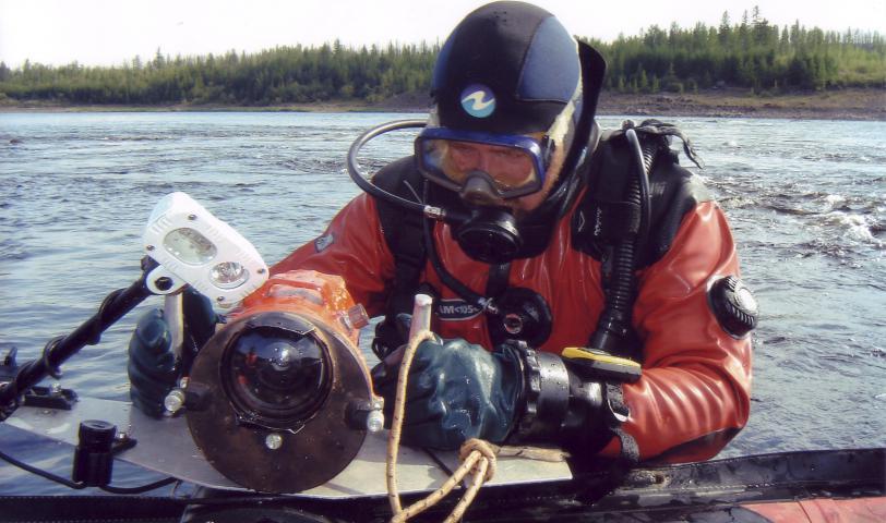 Видеокамера для подводной фотосъемки